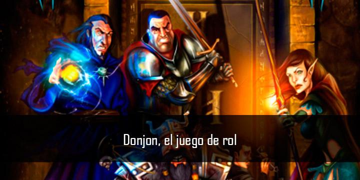 Donjon, el juego de rol