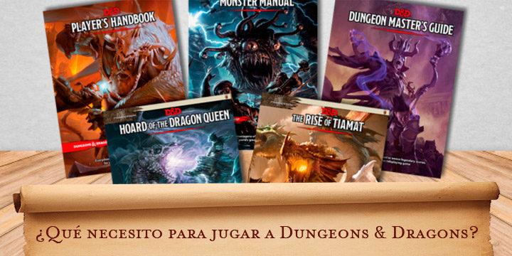 ¿Qué necesito para jugar a Dungeons & Dragons?