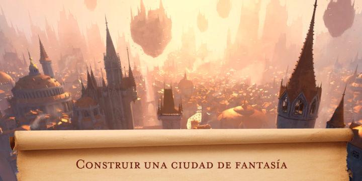 Construir una ciudad de fantasía