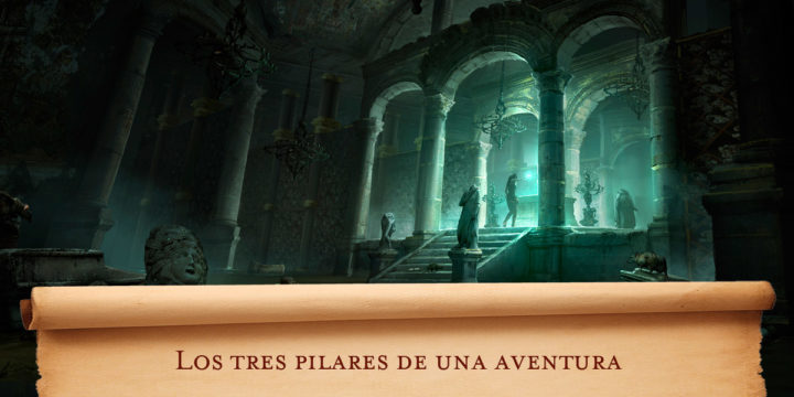 Los tres pilares de una aventura