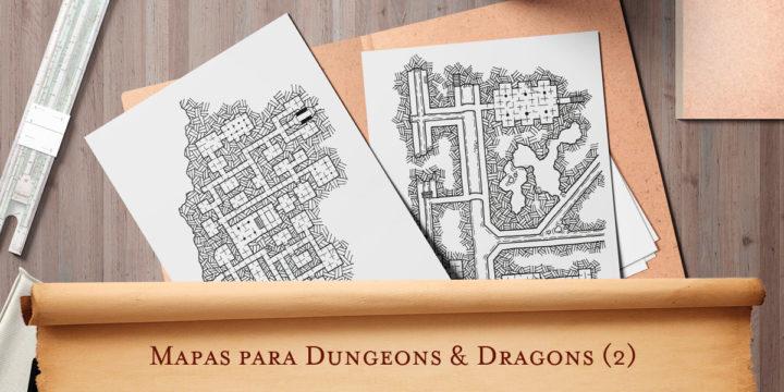 Mapas para Dungeons & Dragons (2)