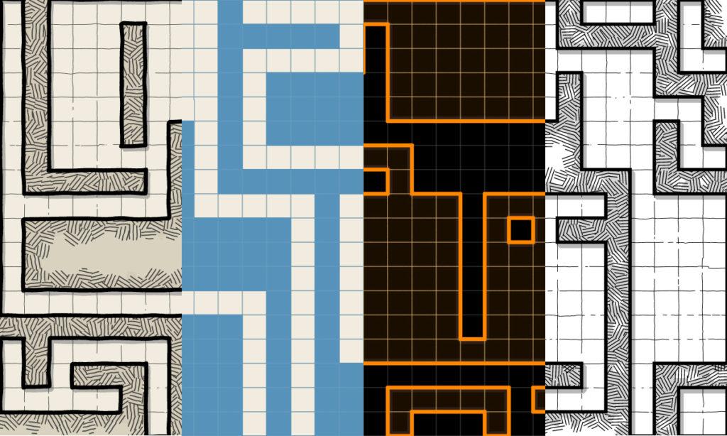 Estilos de Dungeon Scrawl