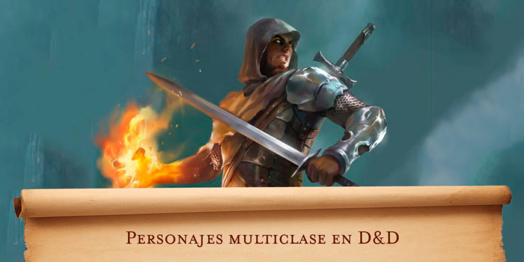 Personajes multiclase en Dungeons & Dragons