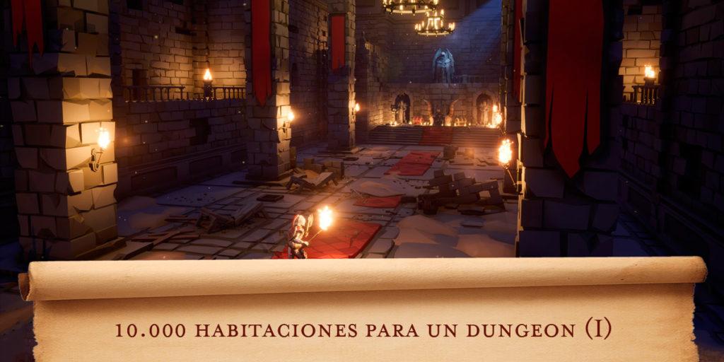 Habitaciones para un dungeon