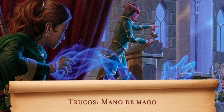 Trucos: Mano de mago