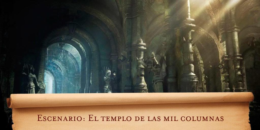 Escenario D&D: El templo de las mil columnas