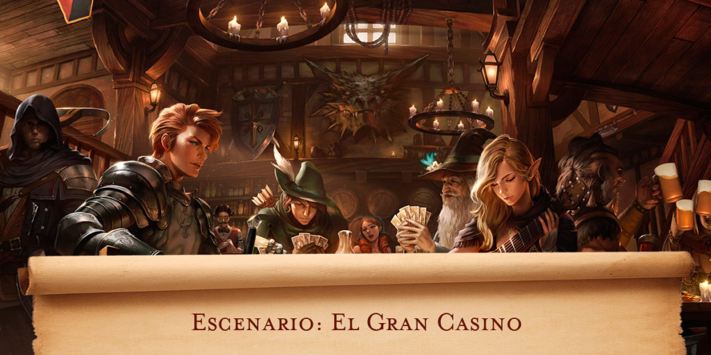 Escenario D&D: El gran casino