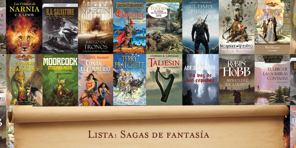 Lista: Sagas de libros de fantasía