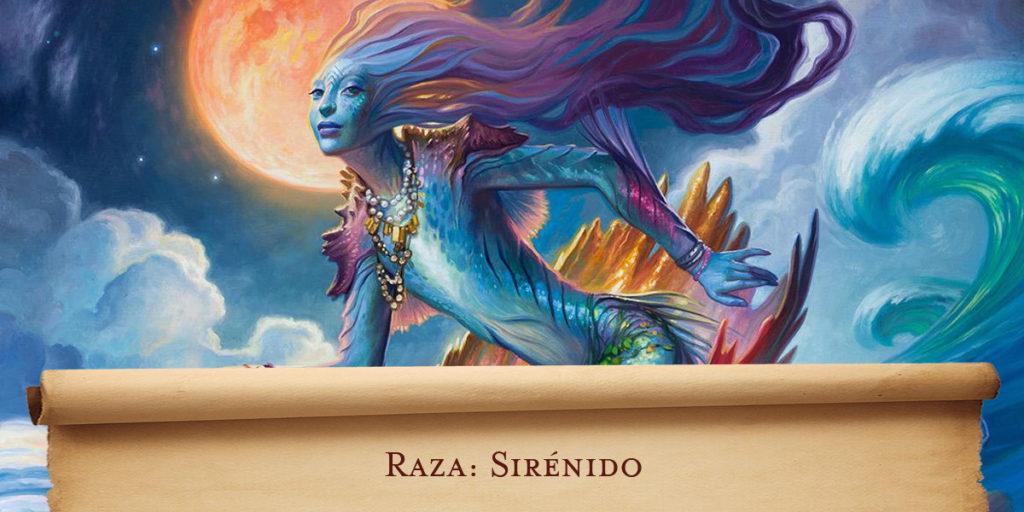 Raza Dungeons & Dragons: Sirénido